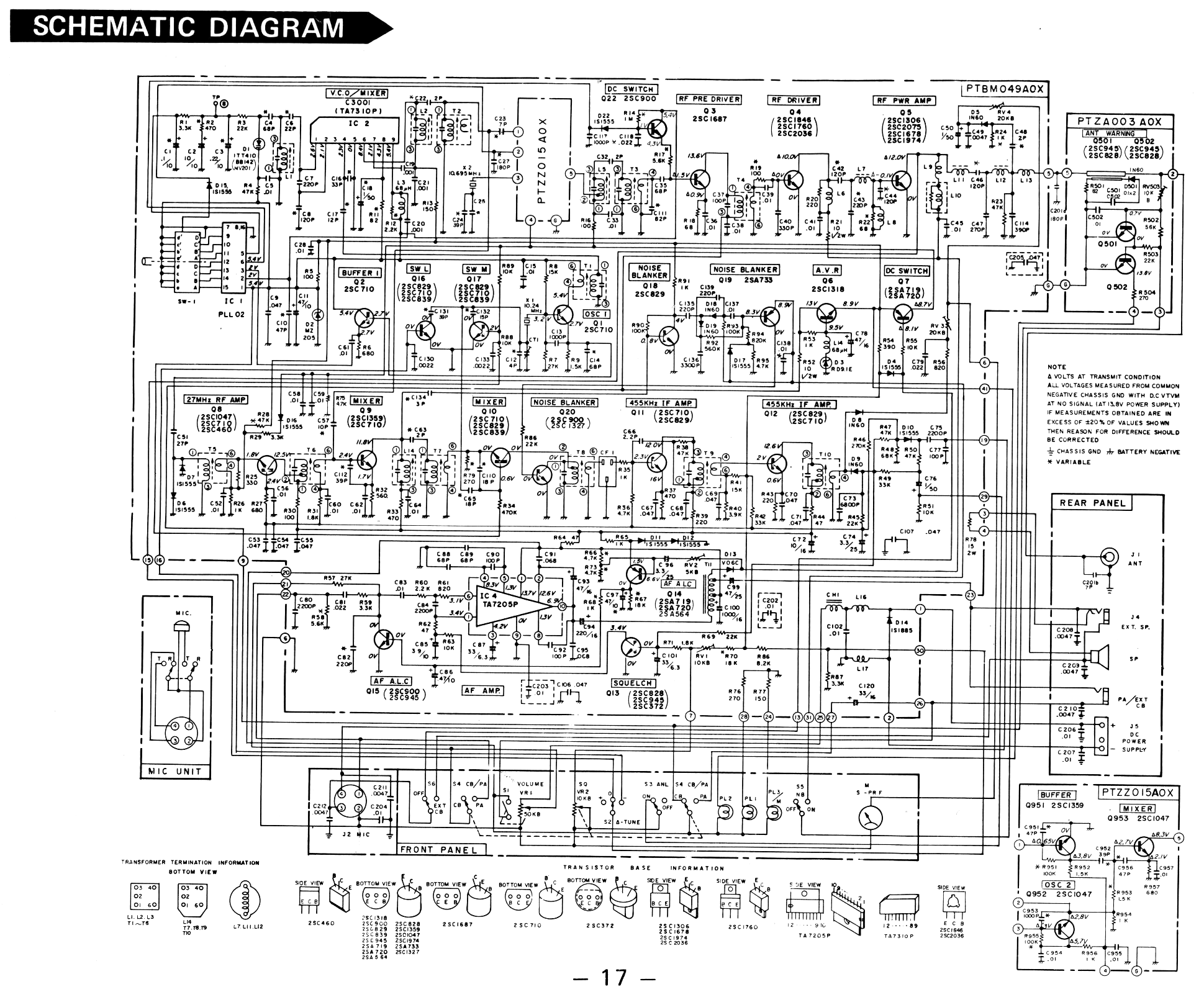Galaxie Cb Radio Wiring Diagram