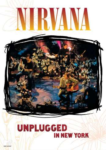cover of the mtv unplugged in nyc by nirvana