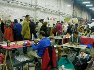 artist stool, art fair, roubaix, france
