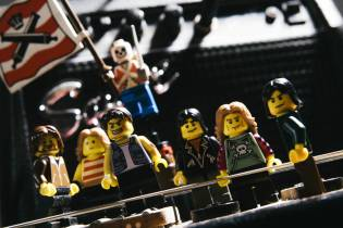 iron maiden made from lego