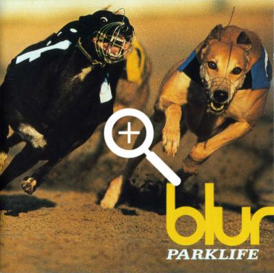 blur, parklife, cover album