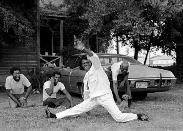 james brown dancing