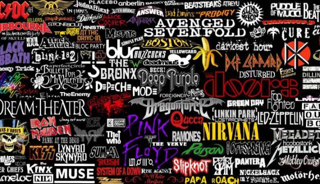 band names music