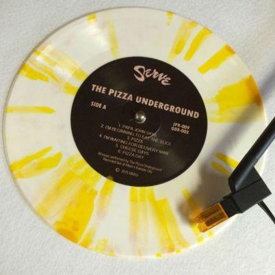 pizza underground, vinyl record