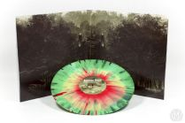 splattered vinyl, jurassic park ost, designed by jc richard