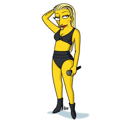 simpsonized by adn, Iggy Azalea
