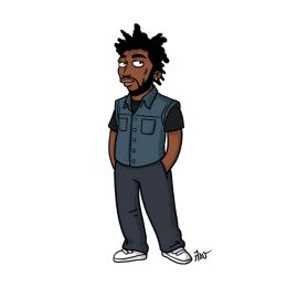 simpsonized by adn, The Weeknd