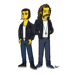 simpsonized by adn, justice