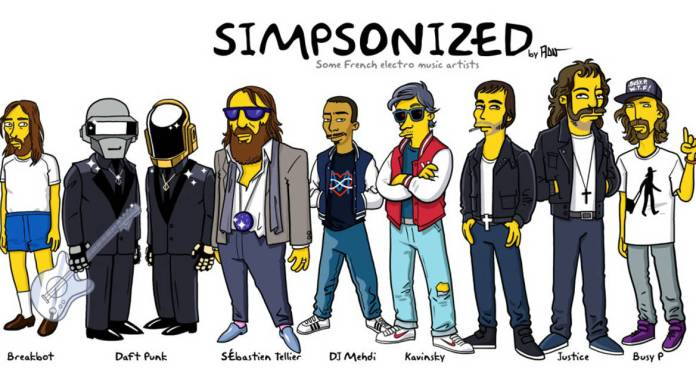 logo simpsonized by adn