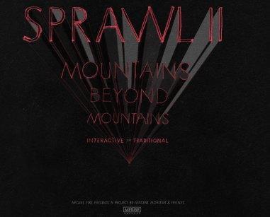 The Sprawl II, homepage