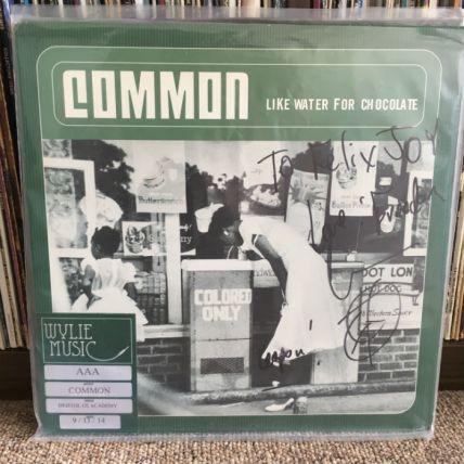 common, signed album