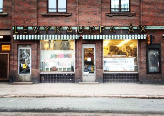 record shop x, helsinki