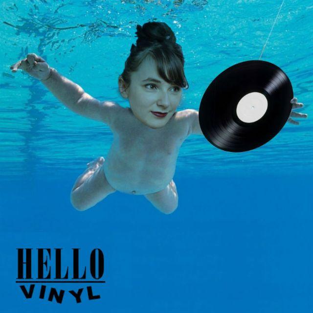 hello vinyl s'est photoshopé dans l'album nevermind de nirvana