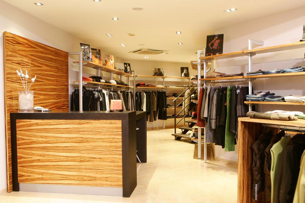 Mostrador botiga de roba