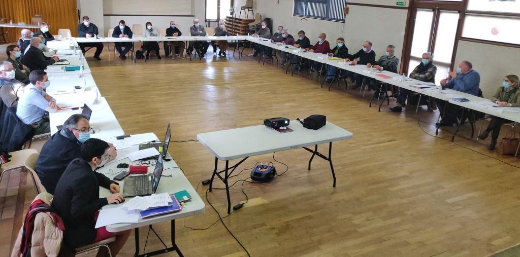 Conseil communautaire CCACV 5 février 2021 Cantoin