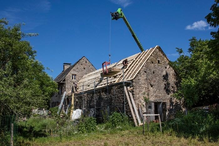 Travaux toit logement rénovation ©K. GUEZ-CCACV