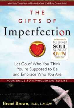 The Gifts of Imperfection Book Cover By Brene Brown