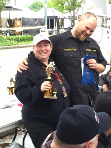 Canadian Festival of Chili & BBQ BC's Best Darn Burger Competition 2016 1st Place Winner Rusty's BBQ