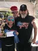 Canadian Festival of Chili & BBQ BC's Best Darn Burger Competition 2017 1st Place Winner Bad Bones