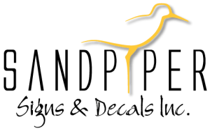 Sandpiper Signs and Decals Inc. -logo