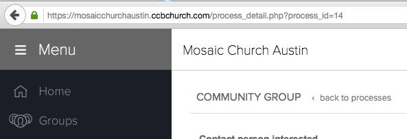 Find CCB Process ID