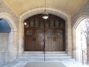 The Main Entry Doors
