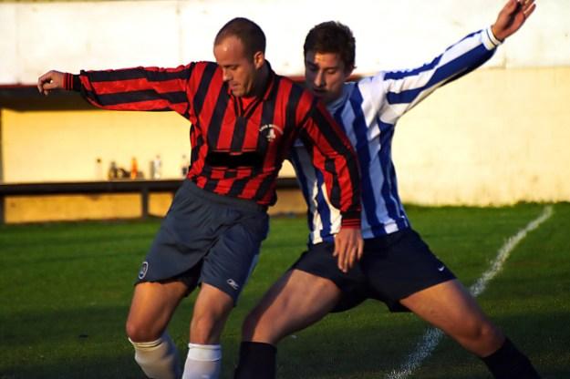 Soccer opponents