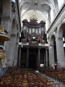 Organ at St. Sulpice