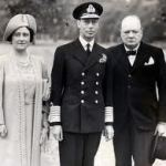 George VI and Winston Churchill