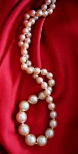 Photo of a pearl necklace