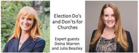 Webinar Now Available: Election Do's and Don'ts for Churches
