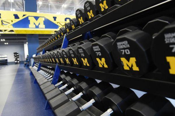 11University of Michigan custom weights