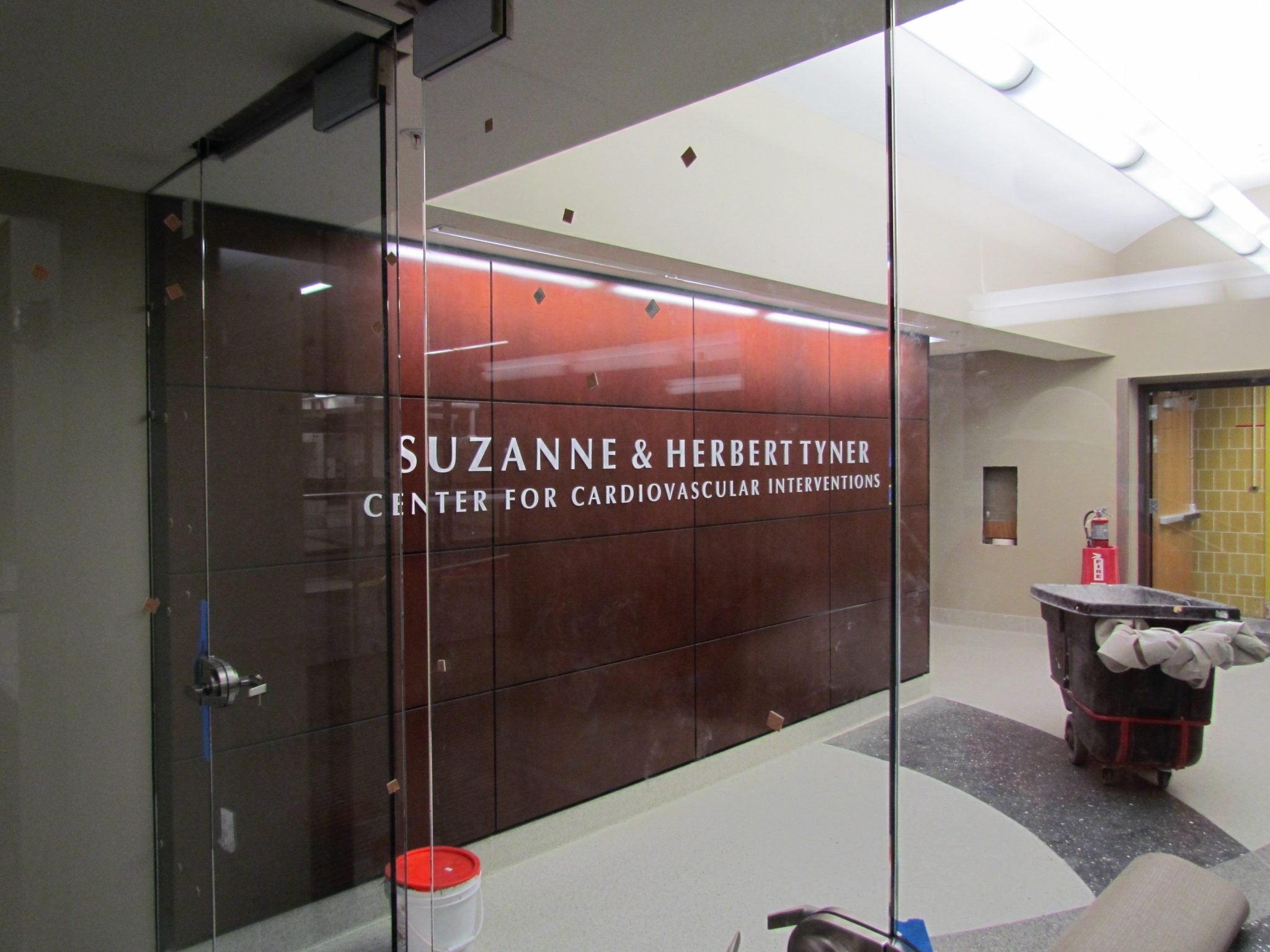 11Beaumont Hospital center with glass doors