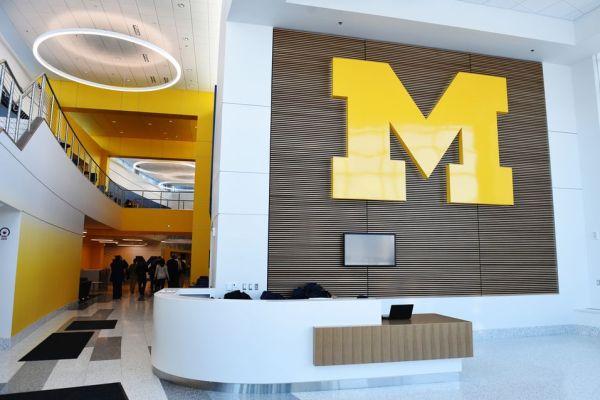 11University of Michigan Sports Complex front desk