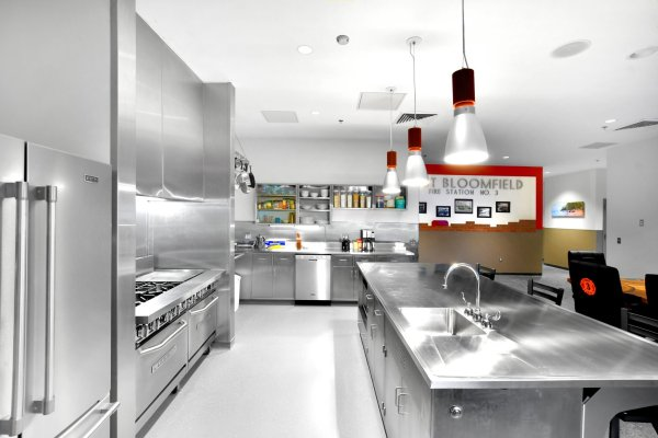 West Bloomfield Fire Station kitchen