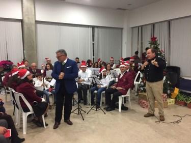 Festa de Natal dos aposentados 2017