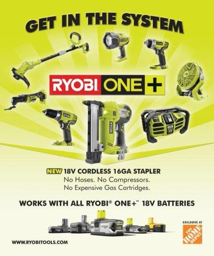 Ryobi One ads