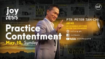 Practice Contentment