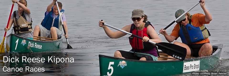 Dick Reese Kipona canoe races