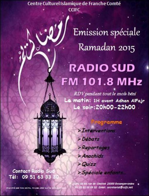 radio ccifc ramadan besancon programme 2015