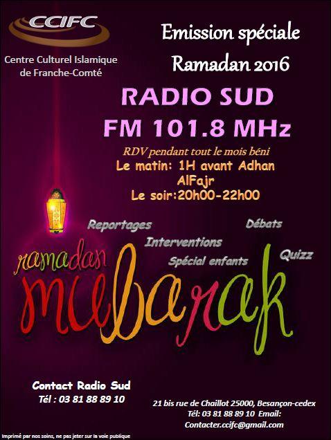 radio ccifc besancon ramadan 2016