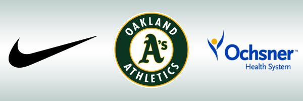 Nike, Oakland A's, Ochsner