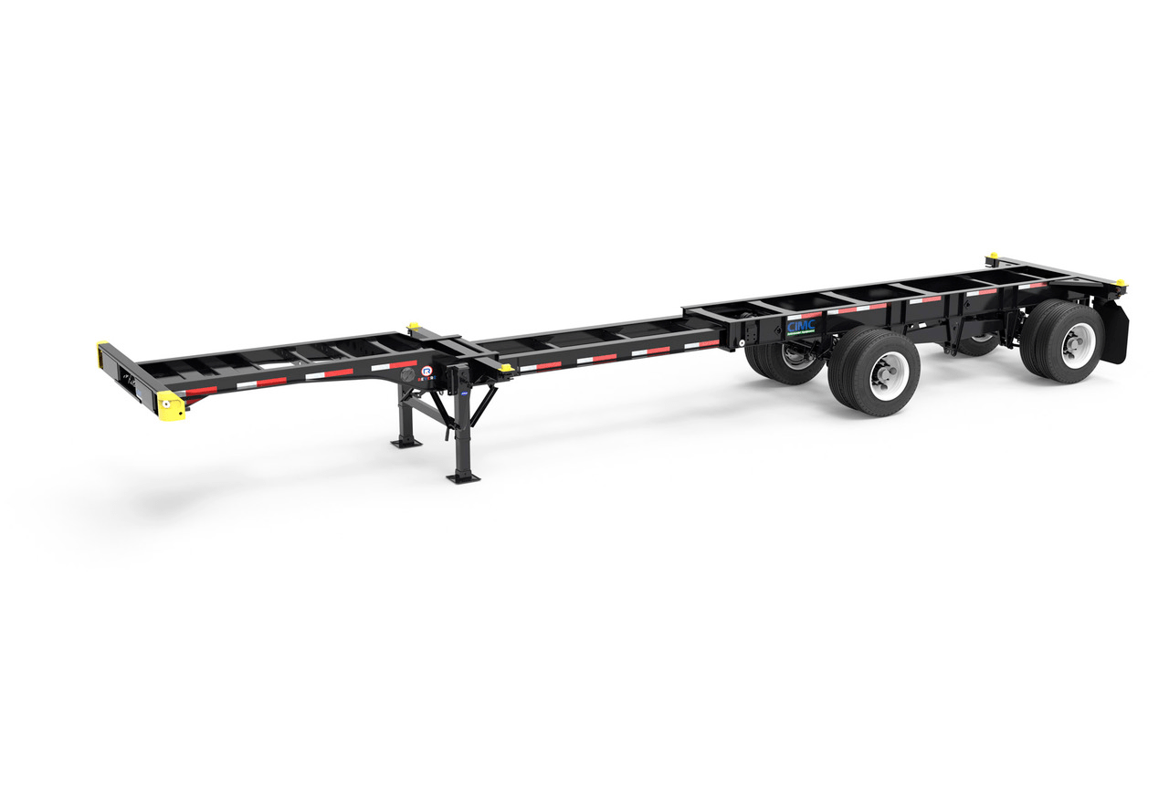 Cimc Intermodal Highlights Its New Revere Chassis