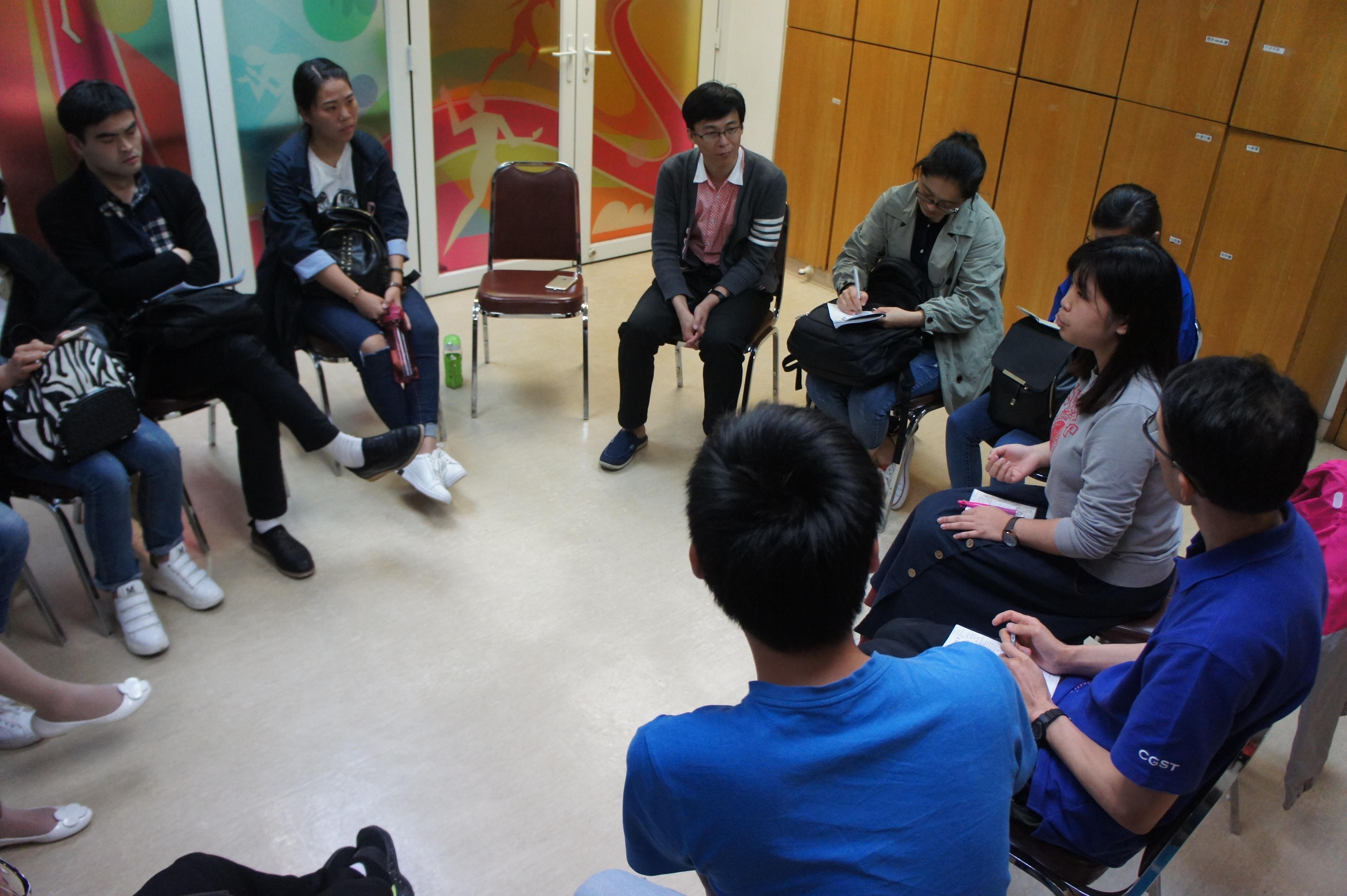 與香港教會交流