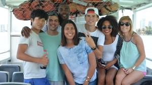 Boat tour in Miami