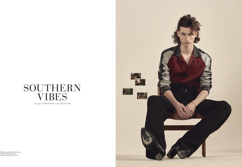 Louie_Johnson _photographed_by_Nacho_Pinedo_for L'Officiel_Hommes_Netands_Carbon_Copyherl-0000