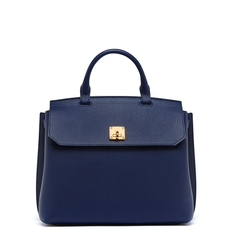 MCM AW16 Milla Backpack Large Navy Blue £1,180