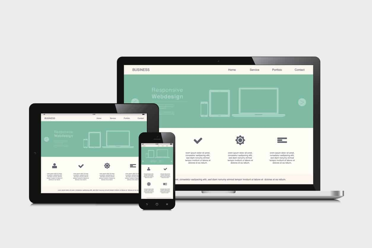 website responsive design