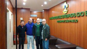 Visita à sede da UEB-SP