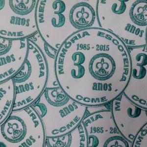 0038 - Distintivo Com. CCME 30 anos